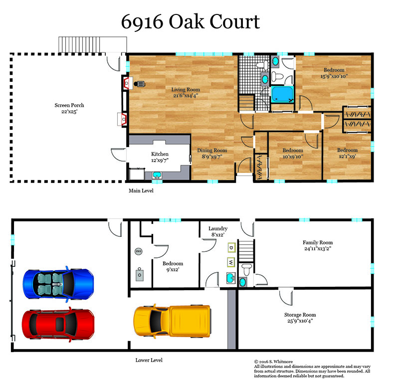 276_floorplan_level-web Oak Annandale Real Estate Listings - Best of Northern Virginia