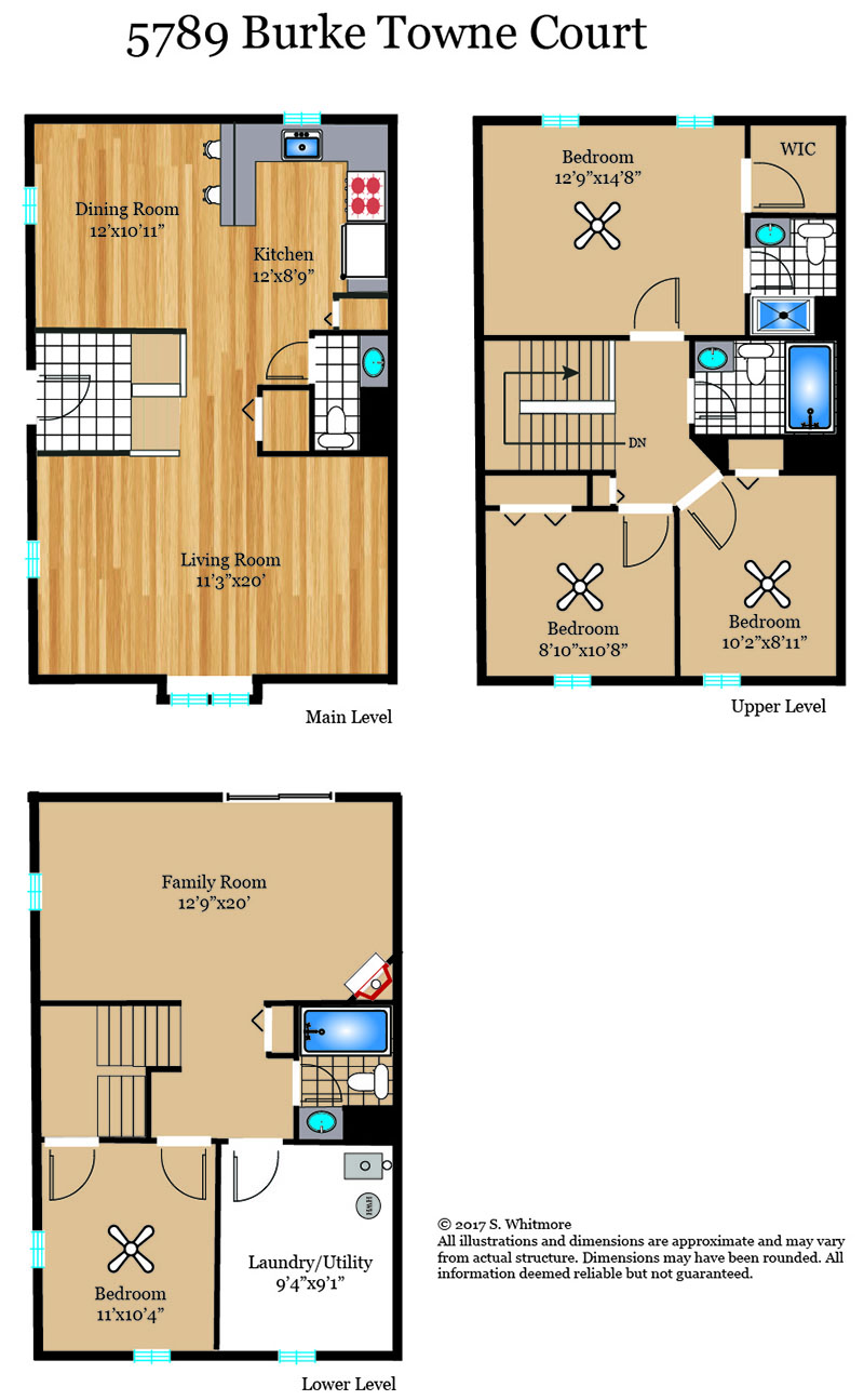 295_floorplan_level-web Burke Towne Burke Real Estate Listings - Best of Northern Virginia