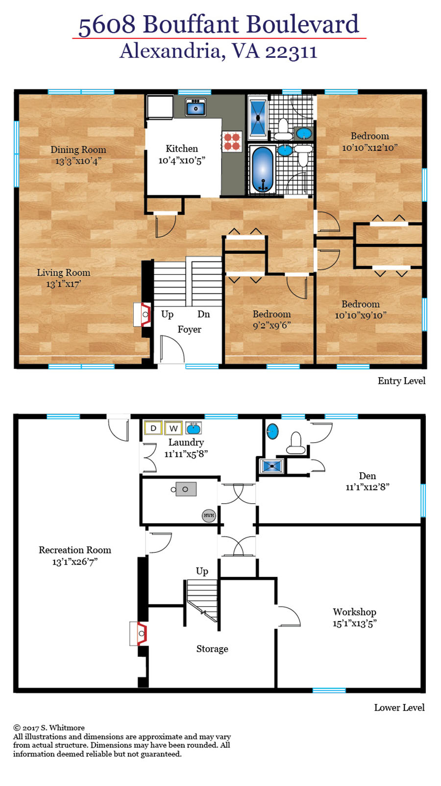 326_floorplan_level-web Bouffant Alexandria Real Estate Listings - Best of Northern Virginia
