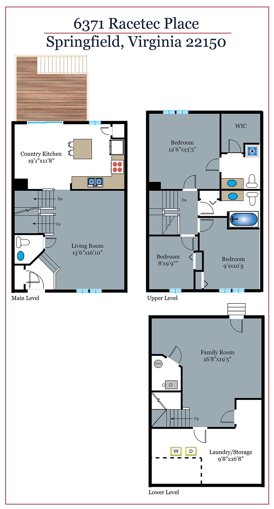 333_floorplan_level-web Racetec Springfield Real Estate Listings - Best of Northern Virginia
