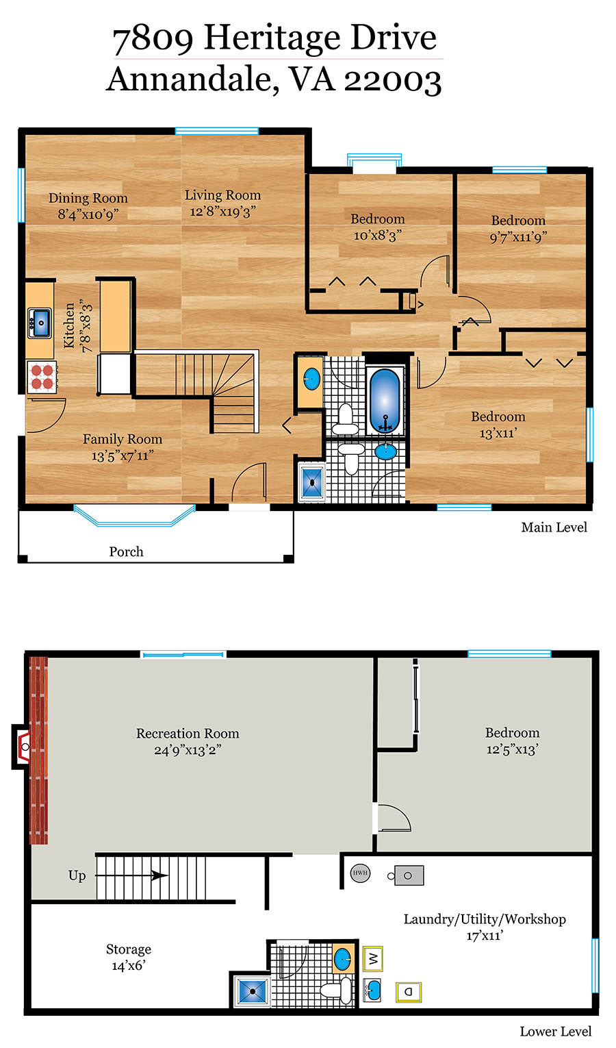 379_floorplan_level-web-01  |   | Annandale Delaware Real Estate For Sale | MLS# Vafx101488  - Best of Northern Virginia
