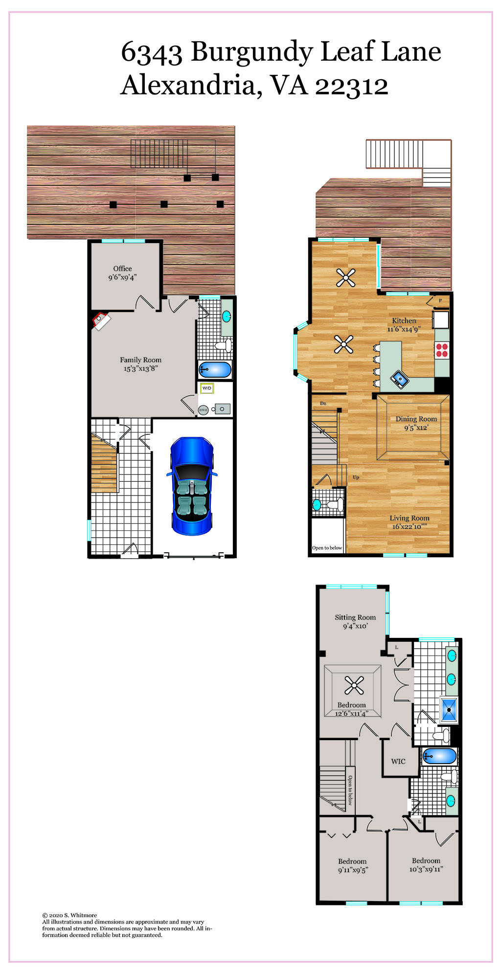 430_floorplan_level-web  |   | Alexandria Delaware Real Estate For Sale | MLS# Vafx1135542  - Best of Northern Virginia